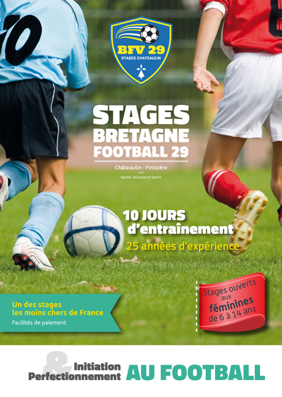 Stages Bretagne Football Vacances 2020